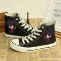Venta Caliente de Japón Del Anime Negro Mayordomo Ciel Phantomhive Cosplay especial Casual Shoes Zapatillas de Lona Unisex