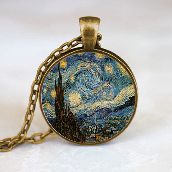 d139f061894 1 pçs lote Starry Night Pingente