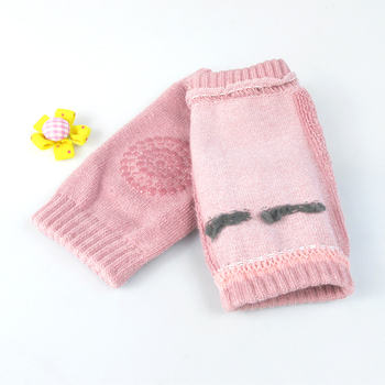 Baby Cotton Knee Pads Kids Anti Slip Crawl Necessary Knee Protector Babies Leggings Children Leg Warmers For Baby Playing Drop 5