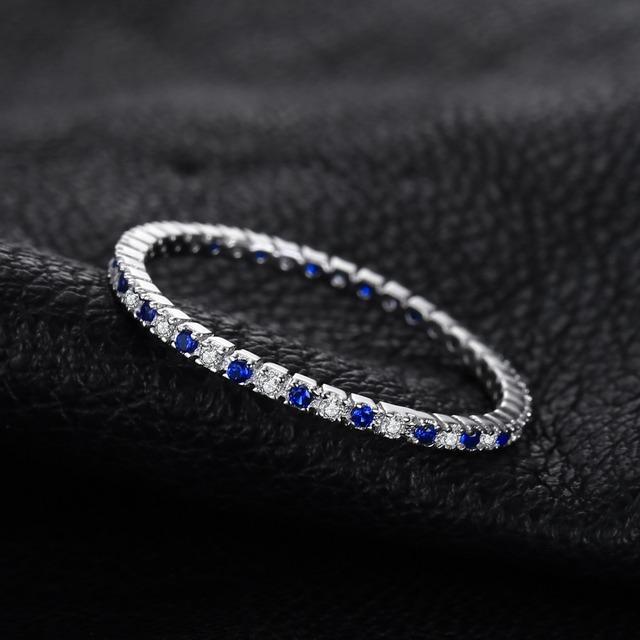 Blue Spinel Gemstone Ring