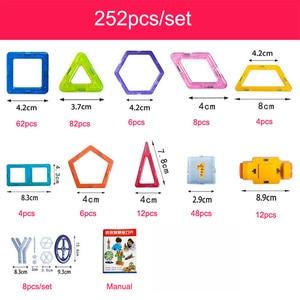 Image 3 - Jeu de Construction de Concepteur de Blocs MagnéTiques en Plastique pour Enfants, 100 298 Pièces