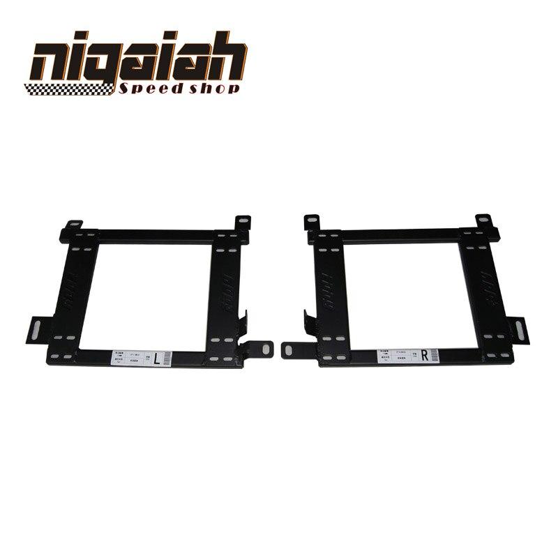 Brand New For Mistubishi Lancer Seat Accessories Car Sports Seat Brakcet Base Mount