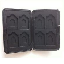 Aluminium Alloy Protector Memory Card Storage Box Case Holder For 8pcs SD Cards