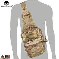 Emersongear Tactical EDC Cordura Bag Military Sport Rover Sling Bag Chest Bag for Camping Hiking Trekking EM8340