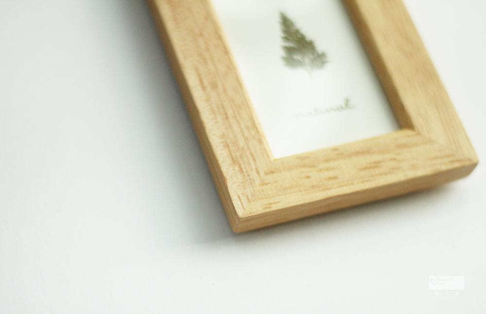 Frame Delicate log lubricious mini small wooden photo frame-in Frame ...