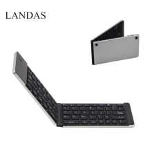 Landas Bluetooth Folding Keyboard For Android Tablet Pocket Wireless IOS Windows Systems