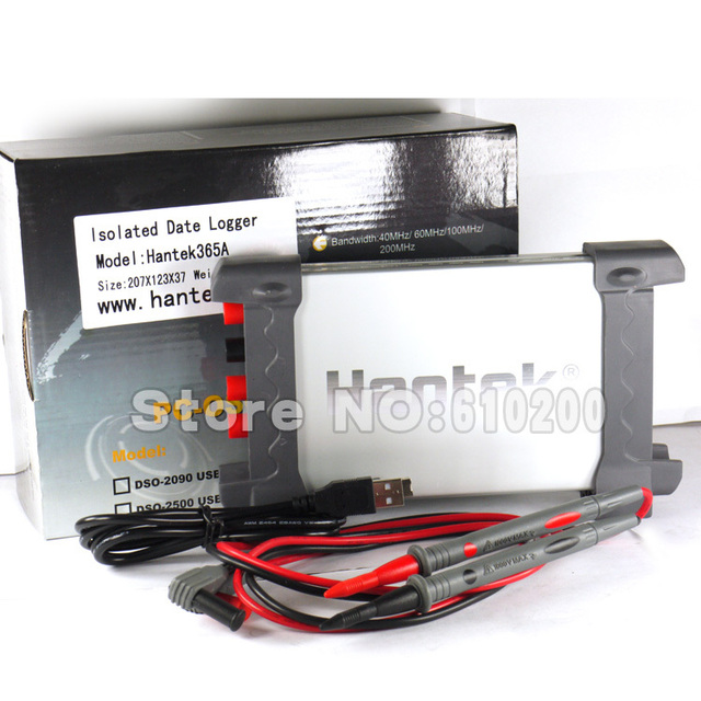 Free shipping Hantek PC USB Virtual Multimeter/USB Data Logger/Recorder/Digital Multimeter For voltage, current, resistance