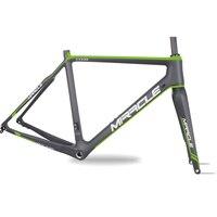 2018 Carbon Fiber Bicycles Frameset Di2 / Machanical Disc Brake With BSA/BB30/PF30 Cyclocross Bikes Frame