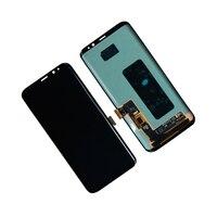 Сенсорный экран дигитайзер ЖК дисплей для Samsung Galaxy S8 Plus G955T G955V G955P сборка панели мобильного телефона Pepair части