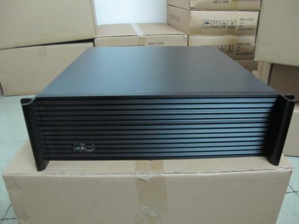 3U450L 7 font b server b font Computer case 1 2mm steel plate 3U industrial chassis