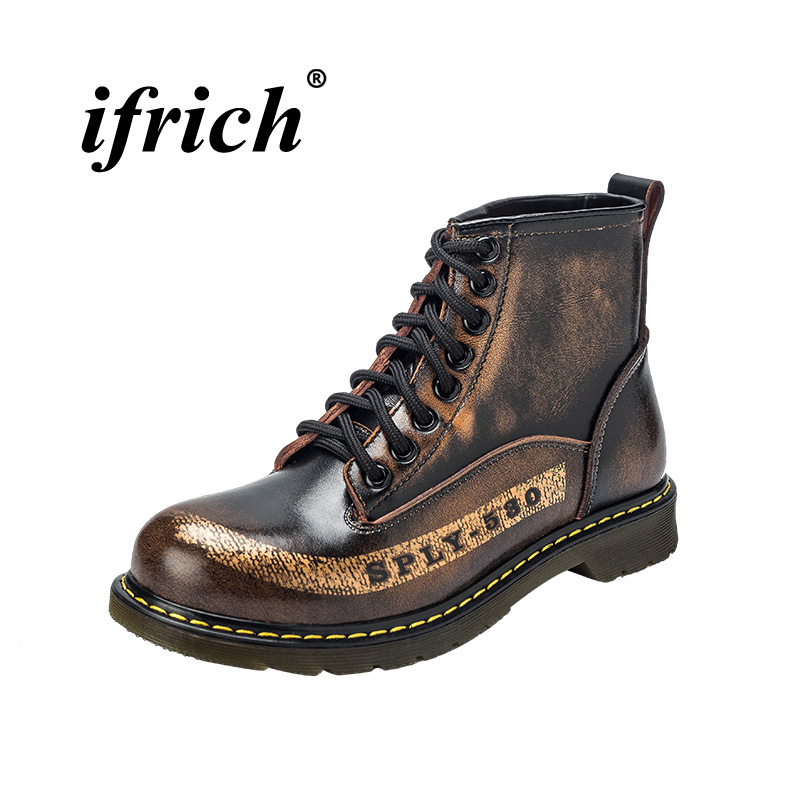 Популярные мужские рабочие ботинки в стиле ретро, разные цвета, повседневные ботинки, мужские ботинки с резиновой подошвой, Молодежная мужс...