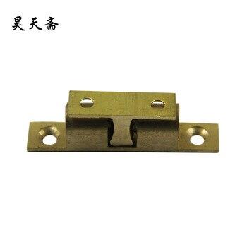 [Haotian vegetarian] antique copper bump cards / antique furniture copper fittings long 5cm / copper beads touch HTL-040