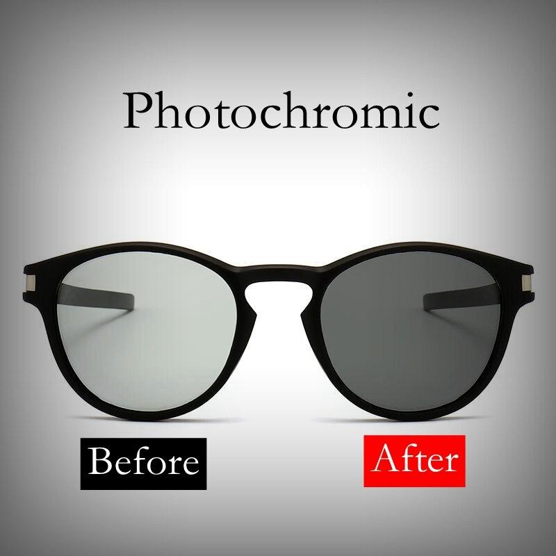 2018 nuevas gafas de sol polarizadas fotocromáticas Oval UV400 gafas - Accesorios para la ropa