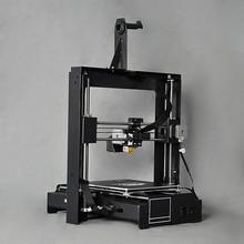 Marco del metal 3D impresora Wanhao en impresoras digitales 3D impresora i3 Plus, velocidad rápida, pantalla táctil, el precio de fábrica