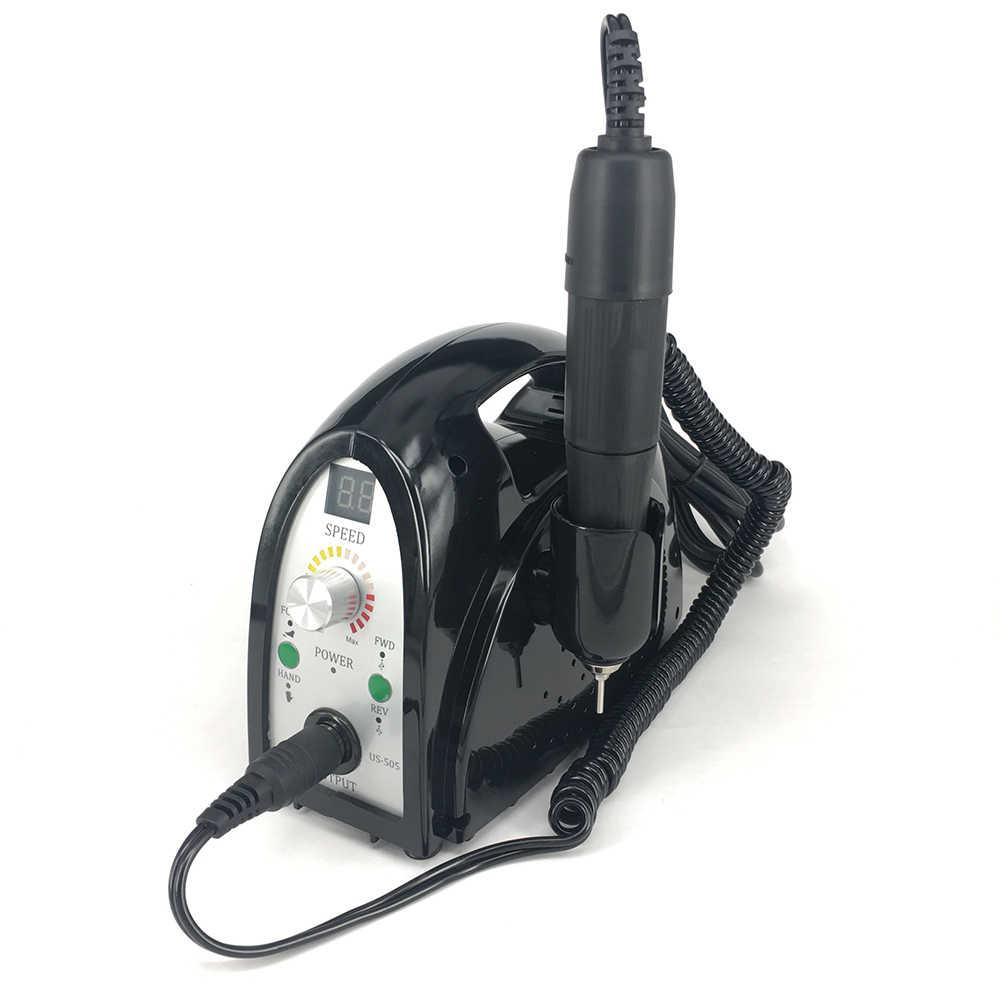 Baru 35000 Rpm Electric Kuku Bor Mesin File Kit Bit Manikur Pedikur Kit untuk Penggunaan Salon untuk Kuku Alat