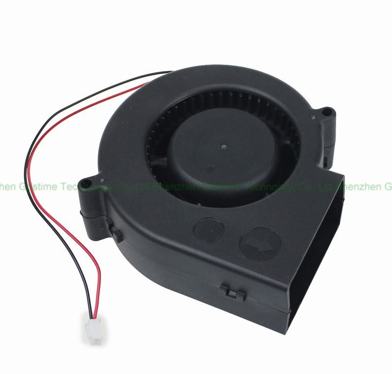 DC <font><b>12V</b></font> <font><b>9733</b></font> 97mm Grill DC Centrifugal Turbine <font><b>Blower</b></font> Cooling <font><b>Fan</b></font> <font><b>Fan</b></font> image