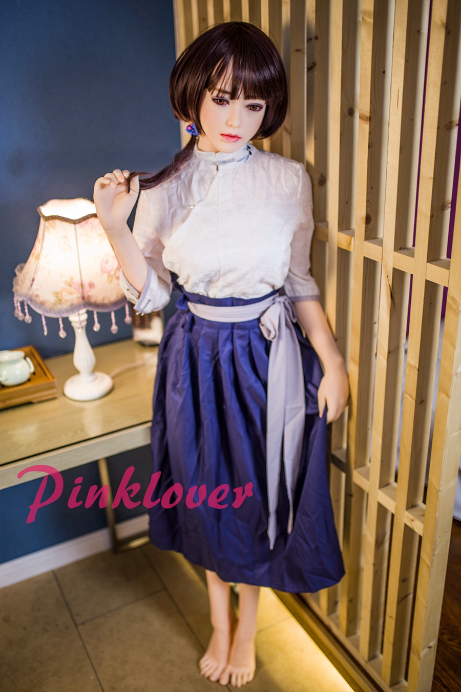 Pinklover <font><b>boy</b></font> and girl Lifelike Cute Real Height 158cm <font><b>Sex</b></font> <font><b>Doll</b></font> Realistic TPE image