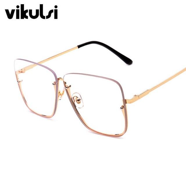 Sin montura Rojo Claro Anteojos gafas de Sol de Óptica Marco de ...