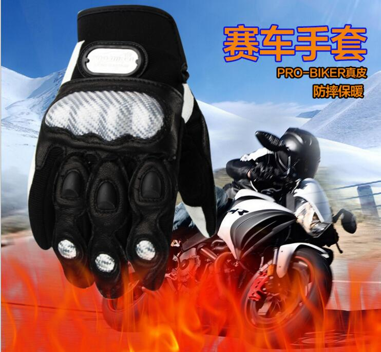 PRO-BIKER motorcycle leather gloves bike off-road Cycling gloves outdoorsports gloves ...