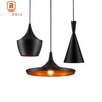 BLUBBLE 3pc/set Vintage ABC Pendant Lights(Tall,Fat and Wide) Tom DIXON Musical Hanging Pendant Lamp Light Restaurant Lamp