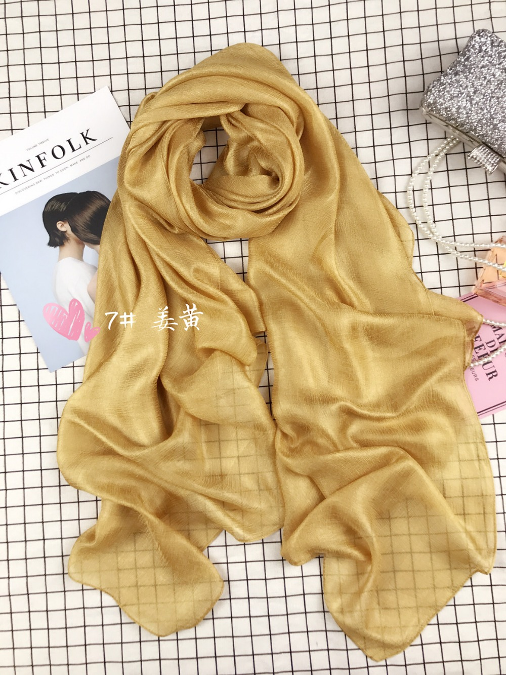 2019 Linen Scarf Female Long Design Solid Color Cape Spring And Autumn Fluid Beach Towel Cape Summer Silk Scarf