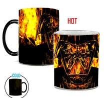 Star War Magic mug color changing Sensitive Ceramic coffeeTea Mugs Cup best gift for friends