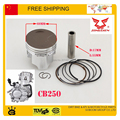 zongshen 250cc water cooled engine Piston kit 69mm Piston ring Set 250cc engine piston  pisiton ring set
