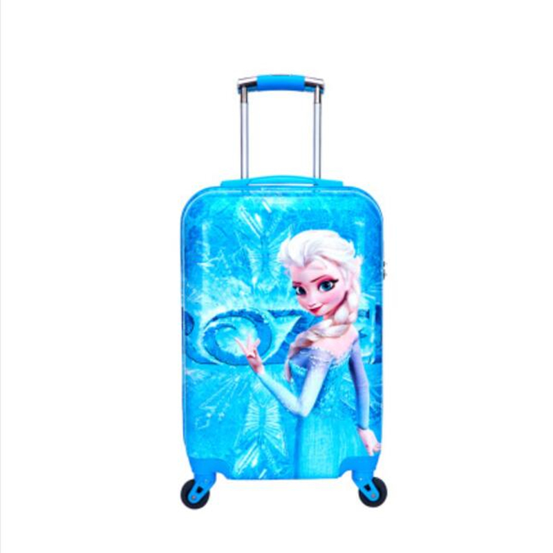 Cartoon Kid's Travel Trolley Bags Suitcase For 20inch Kids Luggage Suitcase Rolling Case Travel Luggage
