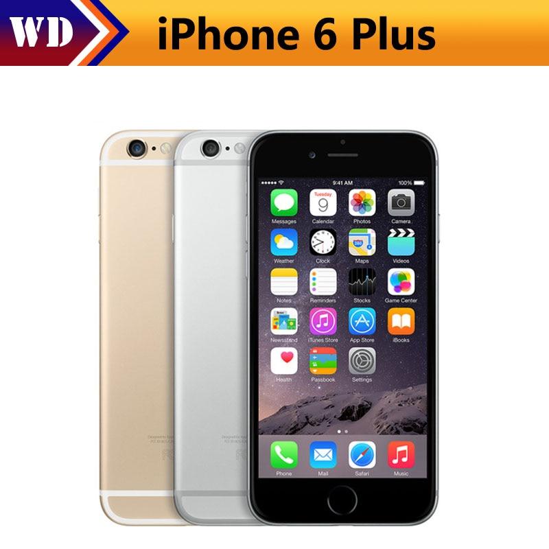"""Цена за Оригинальный разблокирована apple iphone 6 plus мобильный телефон gsm wcdma lte 1 ГБ оперативной памяти 16/64/128 ГБ rom 5.5 """"ips iphone6 plus используется смартфон"""