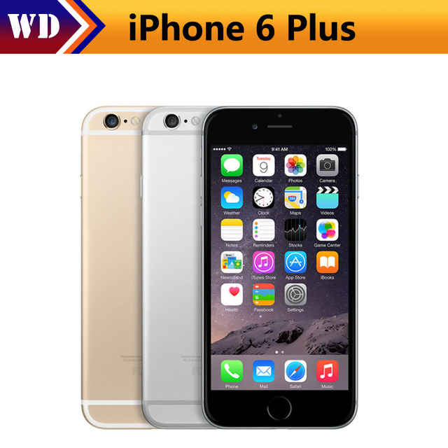 d96c1ed1af898 Original Unlocked Apple iPhone 6 Plus Mobile Phone GSM WCDMA LTE 1GB RAM 16  64 128GB ROM 5.5 IPS iPhone6 Plus Used SmartPhone
