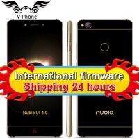 Original ZTE Nubia Z11 Mobile Phone 4GB RAM 64GB ROM 5 5 Inch 1920x1080 Snapdragon 820