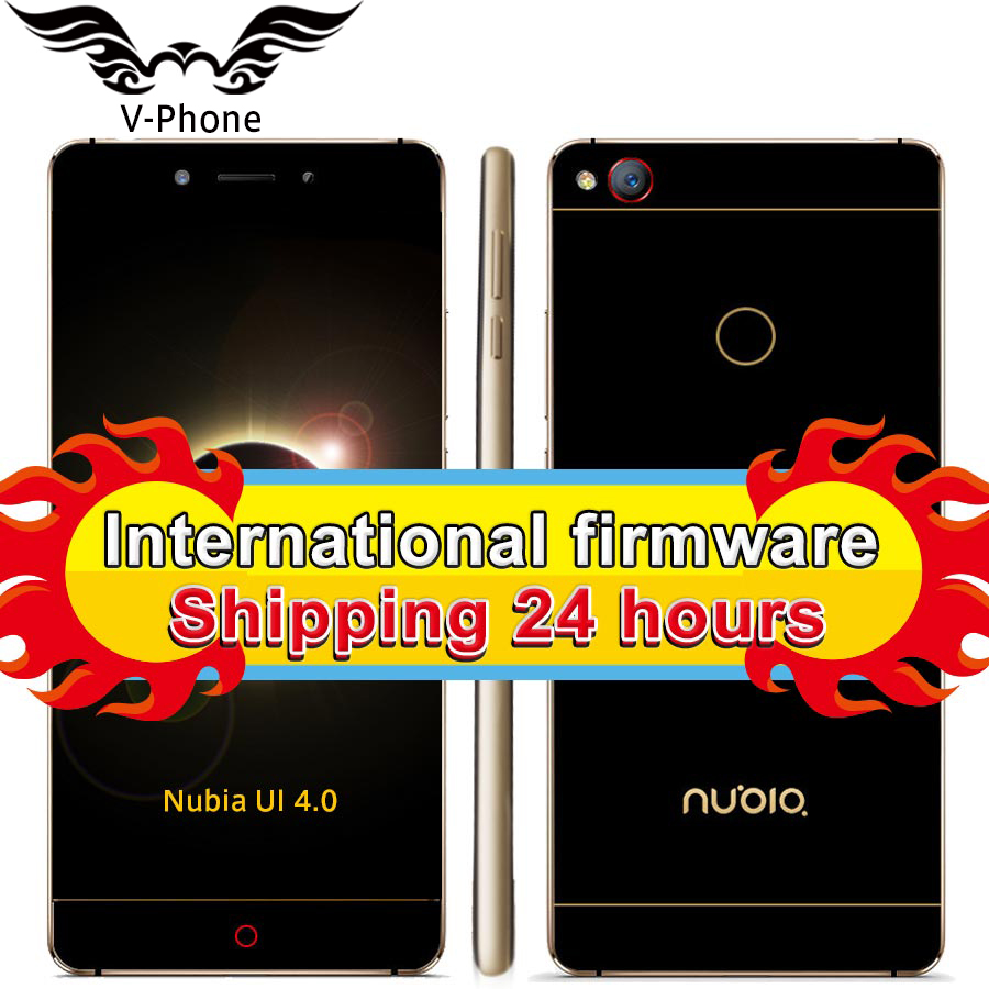 "Global Rom ZTE Nubia Z11 5.5"" Borderless 4GB/6GB RAM 128GB/64GB ROM Mobile Phone Snapdragon 820 Quad Core 16.0MP Fingerprint NFC"