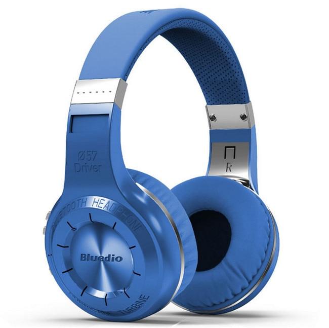 ФОТО New 100% Genuine Bluedio H+ Bluetooth Headset Wireless Headband Over Ear BT4.1 Headphones Earphones