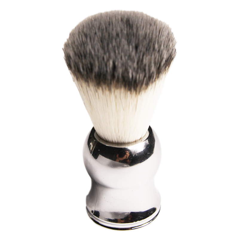 Pure Badger Hair Shaving Brush Shave Beard Brushes Plating Handle As a Gift for Dad and Boyfriend