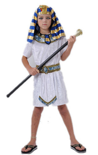 Children Pharaoh Halloween cosplay boy costume kid costume Egyptian Egypt princess family costumes Prince