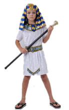 Children Pharaoh Halloween cosplay boy costume kid Egyptian Egypt princess family costumes Prince