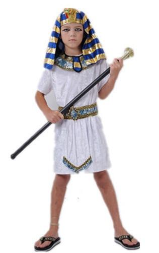 children pharaoh halloween cosplay boy costume kid costume egyptian