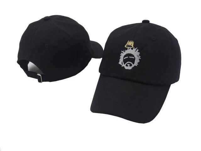 J. Cole Sinner Mahkota Topi Terbaru Pria Wanita Bisbol Hip Hop Topi Kapas  Adjustable Mode a5c5492e59