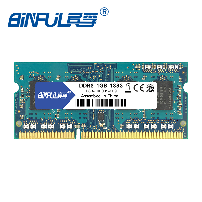 Kembona Hottest Sell In The Market Memory Ram Ddr3 1333mhz 1gb For Notebook Sodimm Memoria Compatible Computer Components