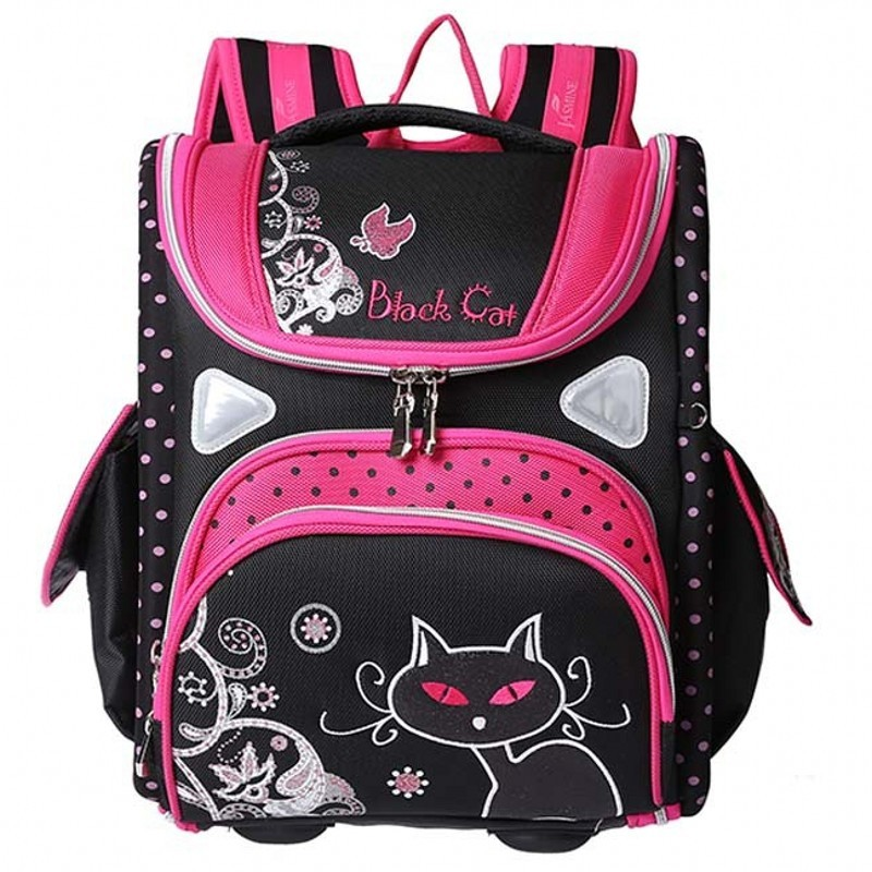New European Children School Bag Girls Backpack Cartoon Mochila Infantil Large Capacity Orthopedic Schoolbag for 1-5 Grade Stud ableme new 2017 children schoolbag backpack mochilas escolares infantis large waterproof comfotable children school bag backpack