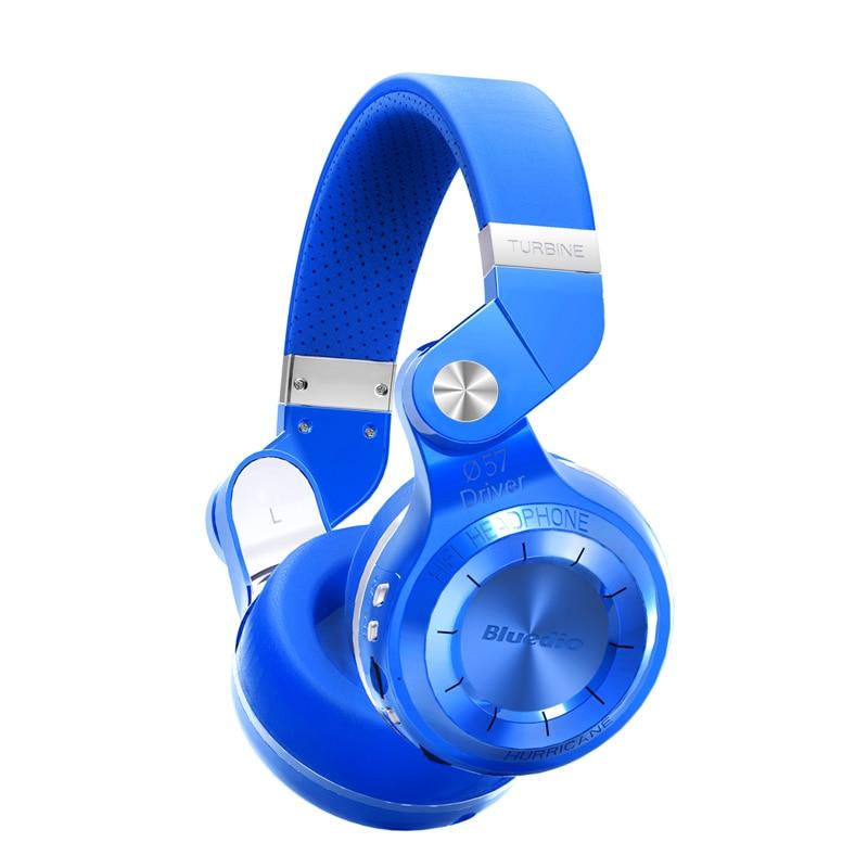 Bluedio T2+  foldable over the ear bluetooth headphones BT 4.1 FM radio& SD card functions Music&phone calls no retail box