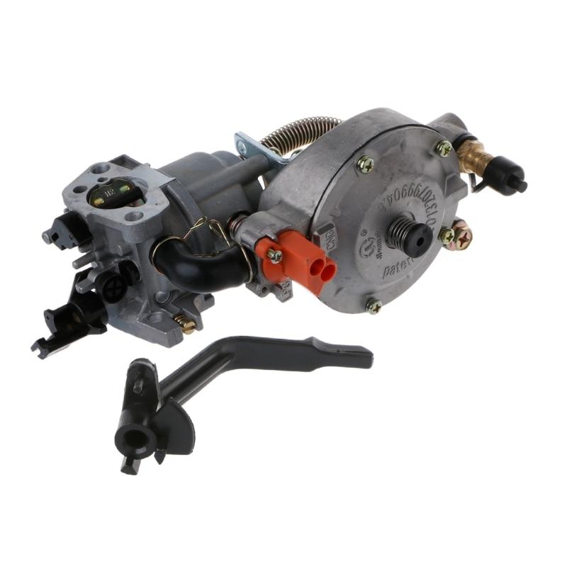 NEUE 1PC Dual Kraftstoff Vergaser Carb Für Wasserpumpe Generator Motor 170F GX200