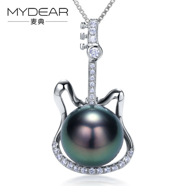 Mydear fine pearl jewelry latest design 9 10mm tahitian black pearl mydear fine pearl jewelry latest design 9 10mm tahitian black pearl pendants necklacesburnished aloadofball Image collections