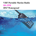 Portable Marine Radio VHF 156-163.425MHz 5W RS-35M IP67 Waterproof VHF Ham Radio