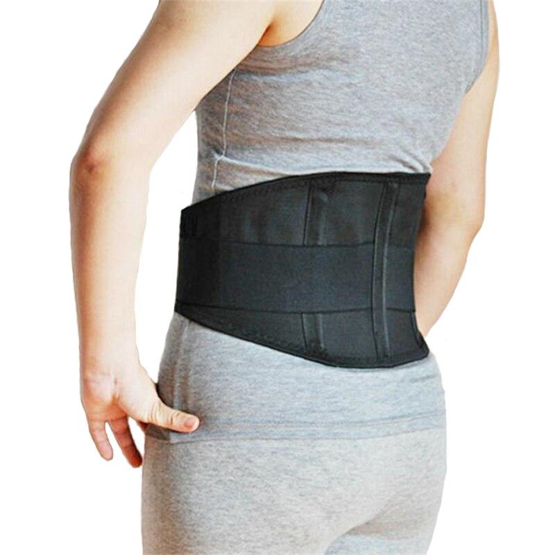 Mulheres Lower Back Brace Suporte Para as Costas Ortopédico Médica Apoio Da Coluna Lombar Respirável Corset Cinto Homens Cintos Y006