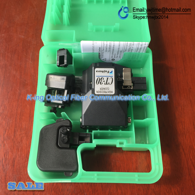 100% Original Fujikura CT-30 CT-30A Fiber Cleaver optical fiber cleaver High precision optical fiber cutter fiber cutting 1 PCS100% Original Fujikura CT-30 CT-30A Fiber Cleaver optical fiber cleaver High precision optical fiber cutter fiber cutting 1 PCS