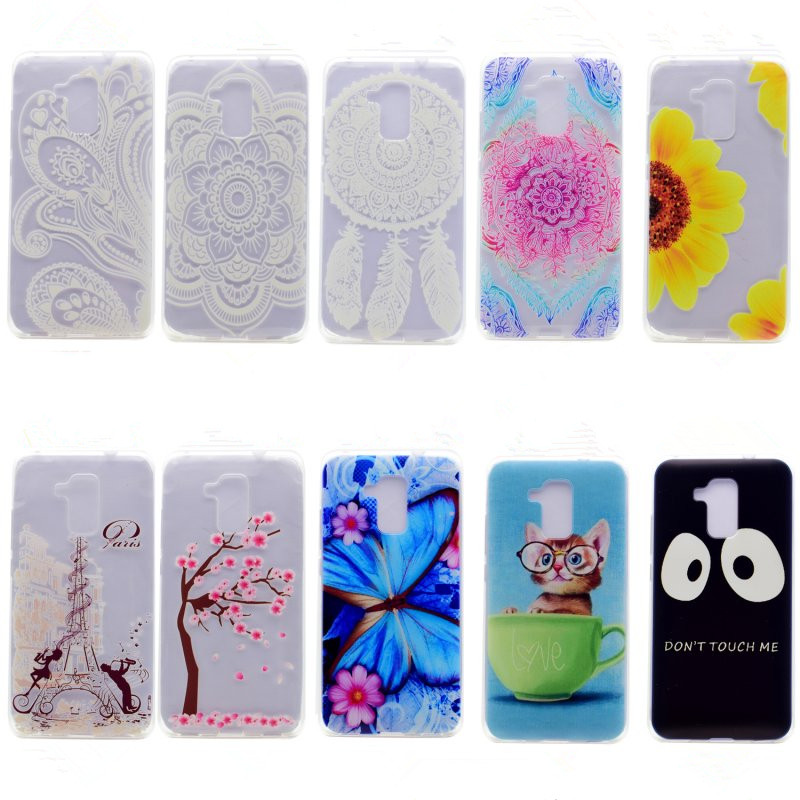 Honor 5C Case Silicon Cover Cute Cat Animal Tower Ultra Ultra Slim <font><b>Cell</b></font> <font><b>Phone</b></font> Bag Coque For Huawei Honor <font><b>7</b></font> Lite GT3 Capinha Etui