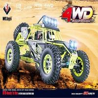 High Quality WLtoys 12428 2.4G 1/12 4WD Crawler RC Car 1:12 Electric four wheel drive Climbing RC Car With LED Light RTR