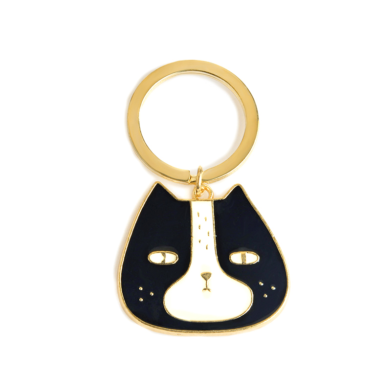 Jewelry & Accessories I Love Cat Pendants Cute Animal Keychain Dog Black Cat Kitty Key Chain Corgi Bulldog Puppy Keyring Accessories Pet Jewelry Jewelry Sets & More