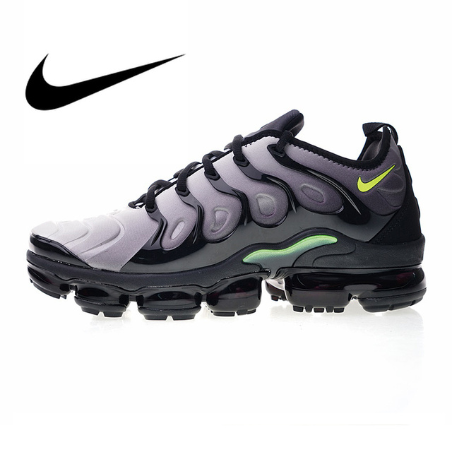 58cc121d49d Nike Air Vapormax Plus TM Men s Running Shoes Sport Outdoor Sneakers  Footwear Designer Athletic Good Quality 2018 New 924453 009-in Running Shoes  from ...